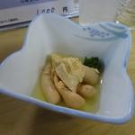 丸萬 - タイの子煮500円