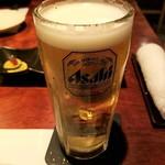 106122150 - 生ビールはスーパードライ