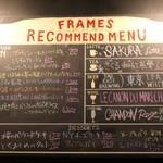 FRAMES - 黒板