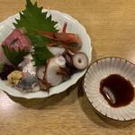 Harunoomise - お造り盛合せ(春のお店) 2019.4