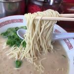 まるうまラーメン - 細麺ストレート