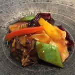 中国料理 大観苑 - イカの四川風炒め