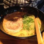 麺屋 大輝軒 - 豚骨ラーメン700円