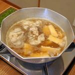 柚木元 - 花山椒の熊鍋