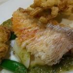 エノテカラウラ - 料理写真:甘鯛うろこ焼き