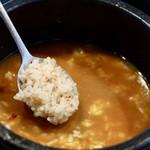 韓国料理・焼肉 きんちゃん - 最後は雑炊