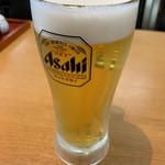 オムニ食堂 - ドリンク写真:生ビール(中)