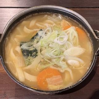 皆吉 - 料理写真:野菜ほうとう