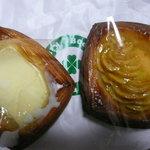 10614237 - クリームチーズのデニッシュとスイートポテトのデニッシュ