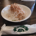 珈琲哲學 - セットのサラダ
