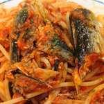 タヴェルナ・エ・ピッツェリア サルーテ - Taverna e Pizzeria Salute @東葛西 銚子産イワシのトマトソースパスタの具
