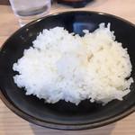 柴田商店 - ライス無料サービス