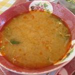106141742 - スープ。何度見ても味噌汁みたい