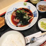 大衆割烹 まさ味 - ごま鯖定食 ¥820