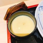 大衆割烹 まさ味 - 茶碗蒸し