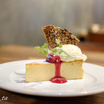 サラスヴァティ - チーズケーキ(550円)