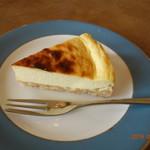 阿部珈琲堂 - ベイクドチーズケーキ