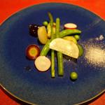 レストラン ココン - 鎌倉野菜のサラダ