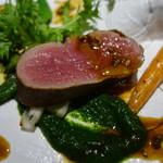 レストラン ココン - 国産 仔牛フィレ肉のロティ