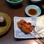 嘉文 - お寿司と一品料理到着