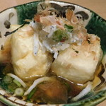 魚と酒はなたれ - 揚げ出し豆腐