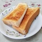 コーヒー&鉄板お好み焼き 福ちゃん - モーニングのトースト
