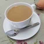 コーヒー&鉄板お好み焼き 福ちゃん - 「カフェオレ (380円)」