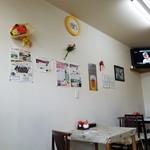 コーヒー&鉄板お好み焼き 福ちゃん - 店内の様子