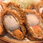 あぶた - 料理写真:ホタテフライ最高!
