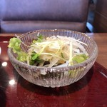 日本の洋食 浅草食堂 - サラダ