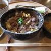 料理旅館 高砂 - 料理写真:ステーキ丼(山椒味噌仕立) 1000円 (2019.4)