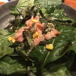 106155141 - ほうれん草のサラダ
