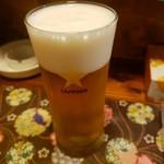でん楽 - ビール