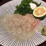 七村酒店 - 鯛のお刺身
