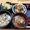 列車レストラン・清流 - 料理写真:舞茸ごはん定食