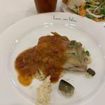 ブラッスリー ルヴェ ソン ヴェール - Aランチ  鶏もも肉のソテー