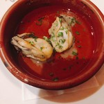 イル・キャンティ アズーロ - 牡蠣のオイル煮