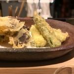お料理 山乃口 - 天ぷら