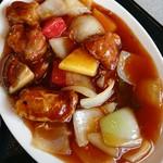 レストラン蘭  - 料理写真:酢豚定食