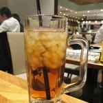 全品食べ飲み放題専門店 居酒屋 くいしんぼ - アイスティー。      2019.04.19