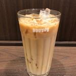 ドトールコーヒーショップ - ドトールのカフェラテ。けっこうラテってる