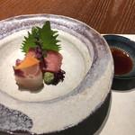 KISSHO KICHIJOJI - 造里:季節のお造り(鮪・鯛)