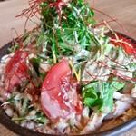 sumibiya - 地鶏の棒棒鶏サラダ