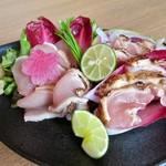 sumibiya - 地鶏のたたき