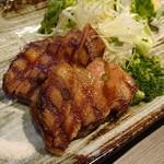 地鶏×鮮魚 個室居酒屋 もみじ屋 - 厚切りタンステーキ