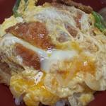 味一番 - 料理写真:カツ丼どーん(^o^)