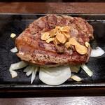 いきなりステーキ - 料理写真:トップリブステーキ・320g(2522円)