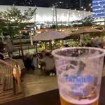 THE FARM TOKYO - あっ、カップの向き、こっちですね...、目線の先は東京駅....