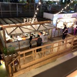THE FARM TOKYO - 2階から見たピザの部...