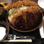 豚屋とん一 - 料理写真:えびとん定食